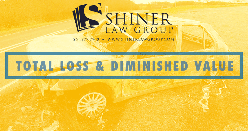 Car Accident Total Loss and Diminished Value