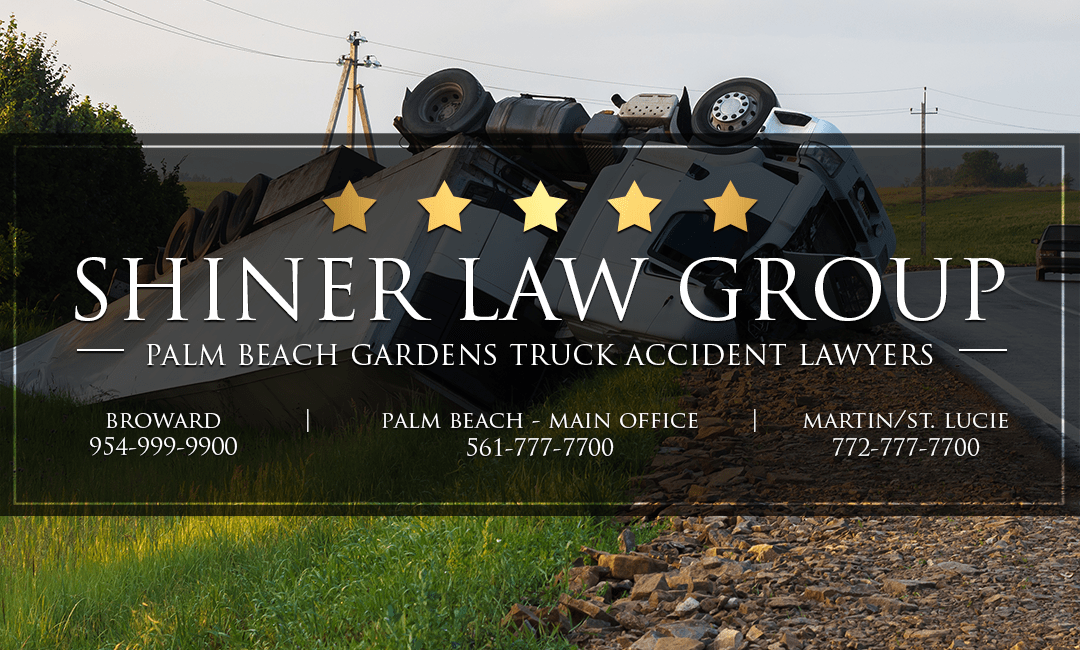 Palm Beach Gardens Truck Accident Attorneys Shiner Law Group Personal Injury Lawyers