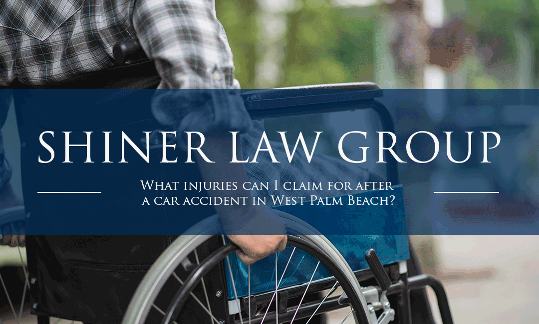 What injuries can I claim for after a car accident in Shiner Law Group
