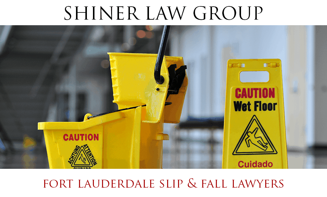 Fort Lauderdale Slip and Fall Lawyers